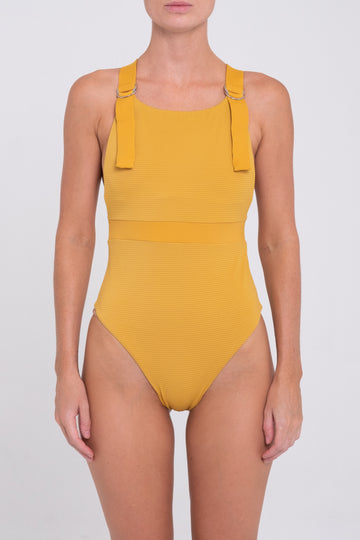 Tate One Piece - Mustard