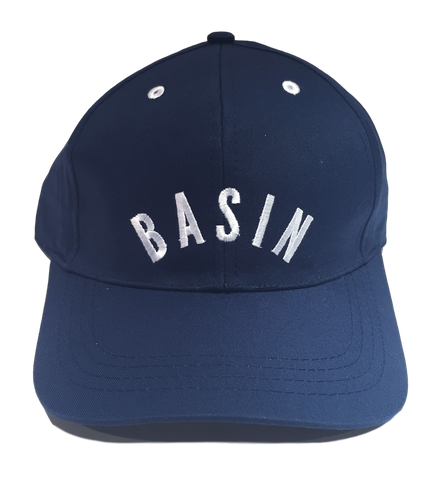 Basin Cap - Navy/ White