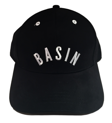 Basin Cap - Black/ White