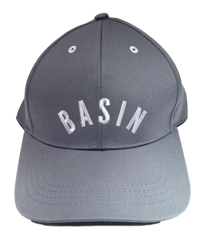 Basin Cap - Grey/ White