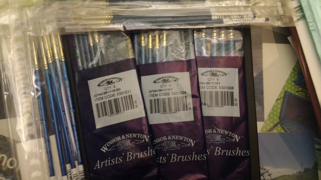 Adding Winsor & Newton Cotman Series 111 Paint Brushes
