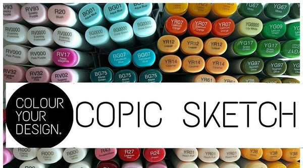 Make Your Own 36 Copic Sketch Markers [10% OFF + FREE SHIPPING]