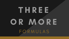 3 or more formulas