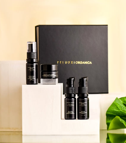 Balance Skin Care Regimen Set Travel Mini Set - Peluzzi Organica