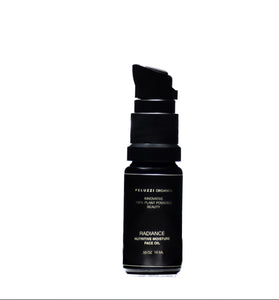 Radiance Nutritive Moisture Face Oil Travel Mini - Peluzzi Organica