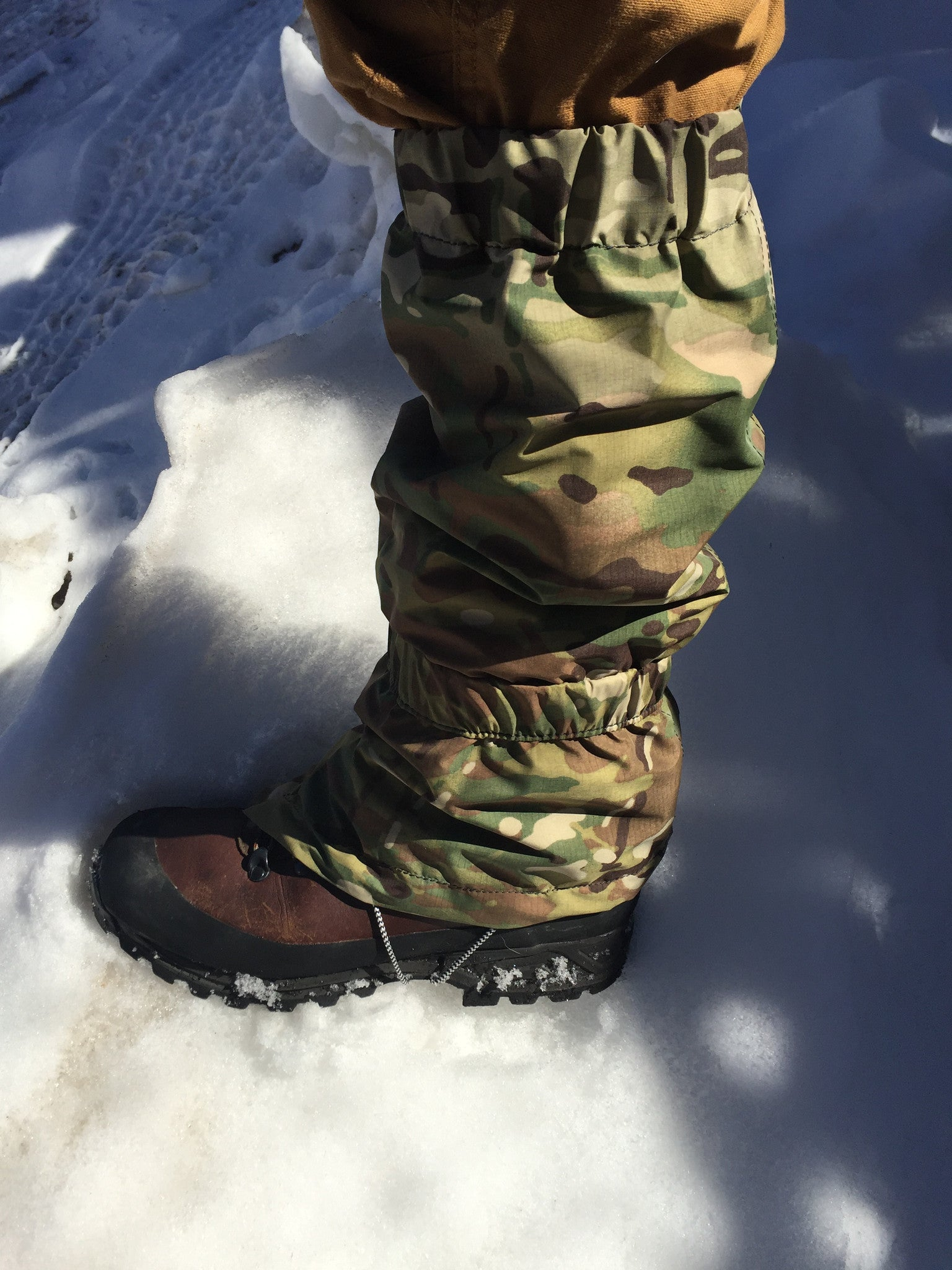 Lightweight waterproof made in USA Gaiters
