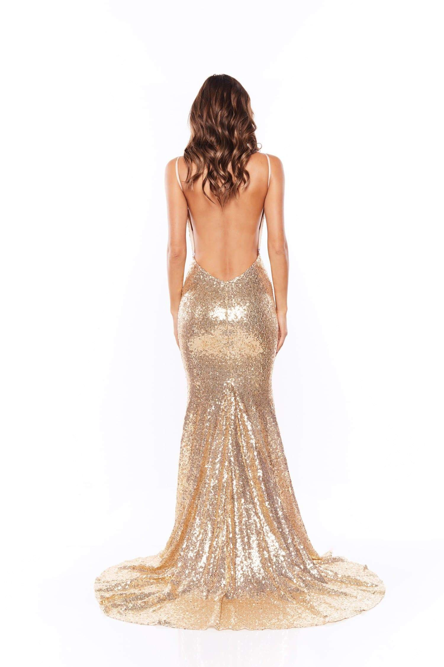 Yassmine Mermaid  - Gold