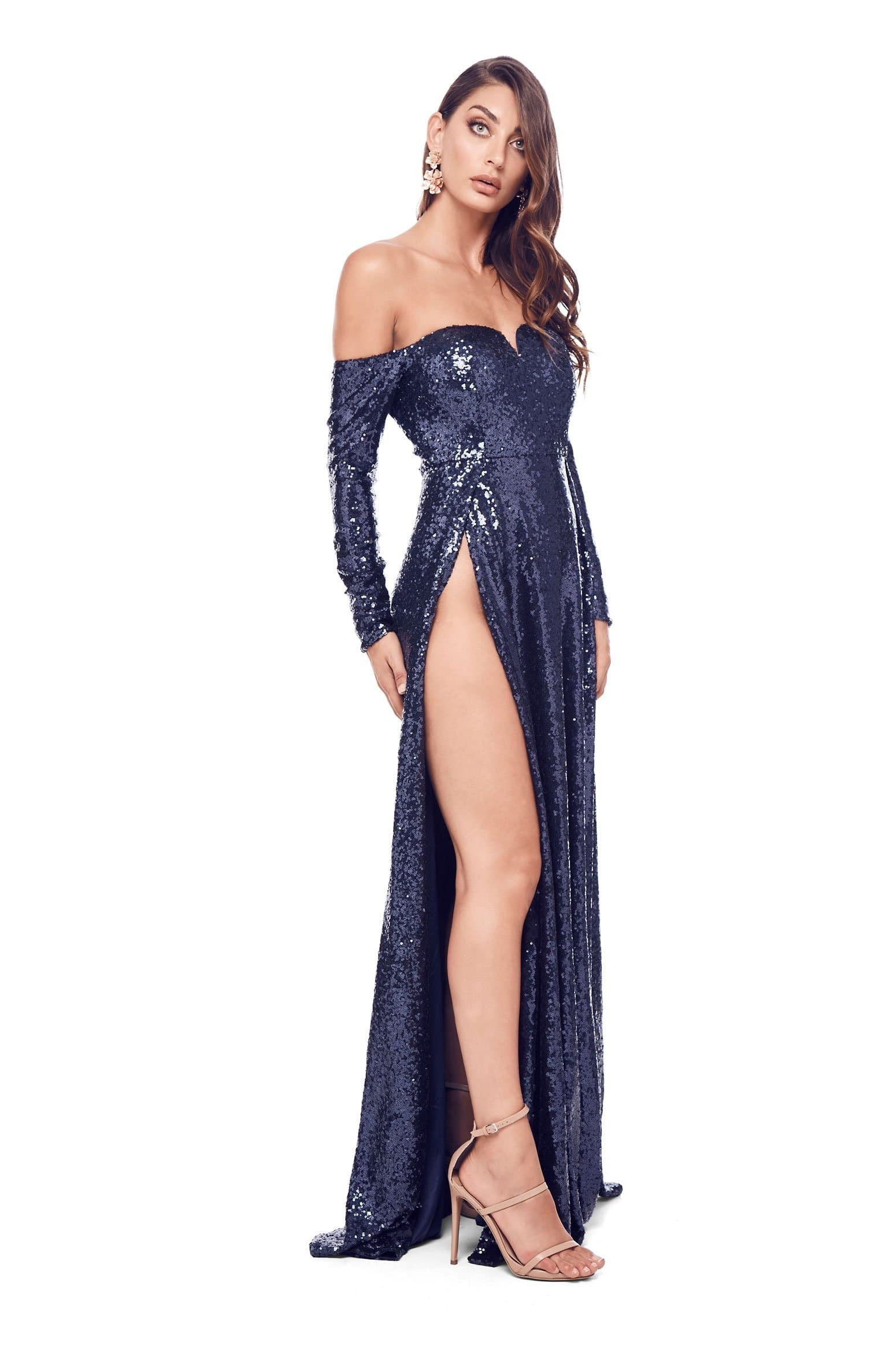 Yuliya Gown - Navy Preorder For Mid-May