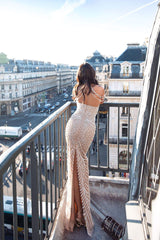 Paris Beaded Gown Alamour The Label
