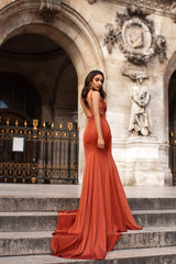 Orlena Gown - Golden Rust Pre-Order End of August