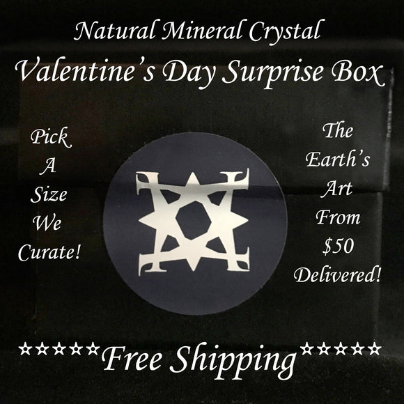 A Superb Valentine's Surprise Gift Box, DELIVERED! Special Superb Minerals