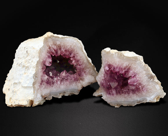Amethyst is a member of the quartz family with a trigonal crystal system and a hardness of 7. Its purple color comes from trace amounts of iron and aluminum.   18 CMS X 16 CMS 2600 GMS  Location: Aurangabad, MAHARASHTRA, INDIA