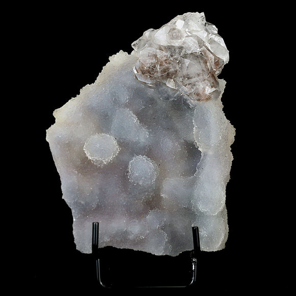 Apophyllite Crystal on MM Quartz Bubbled Plate Natural Mineral Specime…  https://www.superbminerals.us/products/apophyllite-crystal-on-mm-quartz-bubbled-plate-natural-mineral-specimen-b-4144  Features:A gemmy white, microcrystalline Quartz bubbled formation plate  on top of it cluster of Apophyllite. The combination and contrast along with the luster, color and crystal formation is outstanding. A striking and aesthetic piece in excellent condition.Primary Mineral(s): Apophyllite