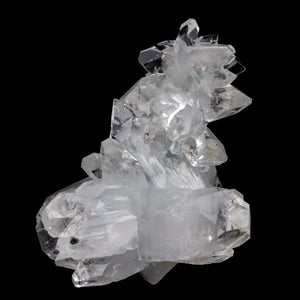 Apophyllite Gemmy Terminated Cluster Natural Mineral Specimen # B 3934  https://www.superbminerals.us/products/apophyllite-gemmy-terminated-cluster-natural-mineral-specimen-b-3934  FeaturesThis is a beautifully balanced and aesthetic specimen of water clear, transparent Apophyllite. Positioned perfectly in the center of a mass of lustrous Apophyllite crystals, is a large, perfect pyramidal Apophyllite crystal. Primary Mineral(s):  ApophylliteSecondary Mineral(s): Stilbite