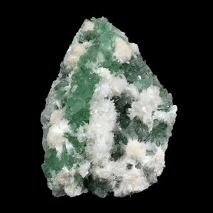 Apophyllite green with Scolecite on Chalcedony A Real Attention Grabbe…  https://www.superbminerals.us/products/apophyllite-green-with-scolecite-on-chalcedony-natural-mineral-specimen-b-3741  Features:This is worthy of center piece status in any mineral collection. Its first feature is size - a whopping 20 by 14 cm and 1.560 kg which qualifies it for that rare super extra large status which Mineralium specializes in. The next feature is sculptural snowy white needle-like scolecite which forms radiating ros