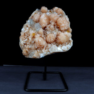 Apophyllite with Big Stilbite Calcite W/Stand Natural Mineral Specimen…  https://www.superbminerals.us/products/apophyllite-with-big-stilbite-calcite-w-stand-natural-mineral-specimen-b-3914  FeaturesA large piece hosting a dense layer of beige Stilbite crystals. The color contrast between the Stilbite and Apophyllite and the pearly luster of the Stilbite creates a very aesthetic and unique specimen.