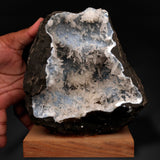 Calcite Crystals Attached Inside Chalcedony Geode # M38 Calcite Superb Minerals