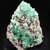 Green Apophyllite Crystals On Heulandite Jalgaon, India # TUC121 Apophyllite Superb Minerals