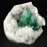 Green Apophyllite on Chalcedony # 20T32 Apophyllite Superb Minerals