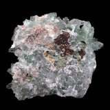 Green Apophyllite Sparkling with Chalcedony Natural Mineral Specimen #…  https://www.superbminerals.us/products/green-apophyllite-sparkling-with-chalcedony-natural-mineral-specimen-b-3804  Features This piece hosts a gemmy, lustrous, transparent cluster of green Apophyllite crystals, highly sought after for their clarity and rich green color, on numerous clusters of whitish snowy chalcedony, all on a matrix of sparkly Chalcedony. The formation and balance of this piece is particularly impressive