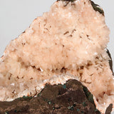 Heulandite Cluster Natural Mineral Specimen # B 3751  https://www.superbminerals.us/products/heulandite-cluster-natural-mineral-specimen-b-3751  Features:A nice aesthetic piece featuring a geode lined with lustrous, pink-orange Heulandite crystals. The crystals are well defined with a pearly, almost glassy luster. This piece sparkles. Excellent condition. Primary Mineral(s): HeulanditeSecondary Mineral(s): N/AMatrix: N/A24 cm x 16 cm2400 GmsLocality: Nashik