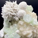 Say it with Flowers of Mordenite & Green Apophyllite - F28 Mordenite Superb Minerals