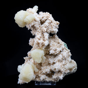 Very artistically form Specimen of Stilbite Crystals on Heulandite Base - #B43 Stilbite Superb Minerals