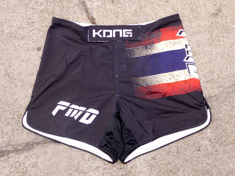 KONG x FMD MMA Thai-Brid Fight Shorts