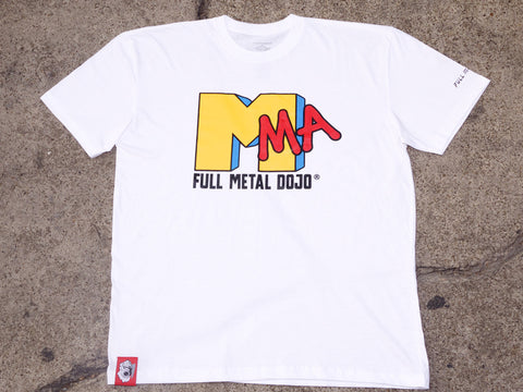 "KONG x FMD ""MMA"" Cotton Tee White"