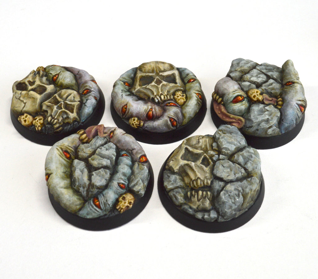 32mm Demon World Base x5