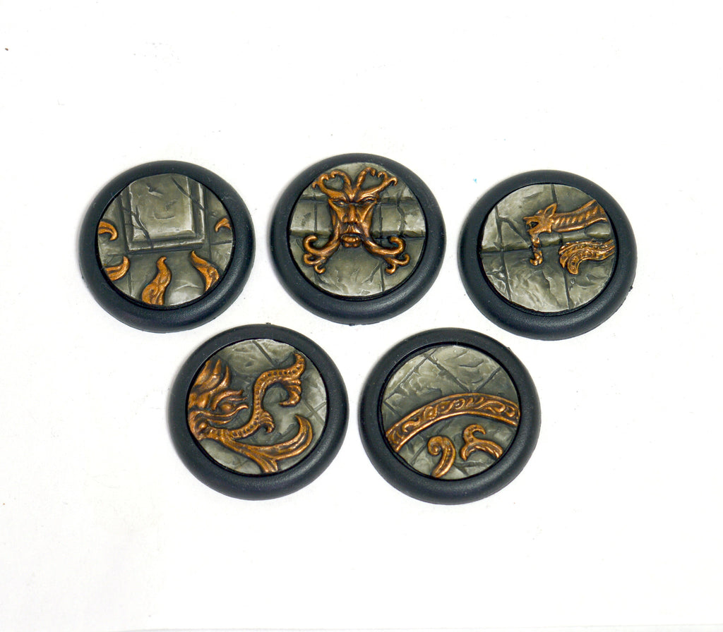 Small Forgotten Temple Inserts x 5