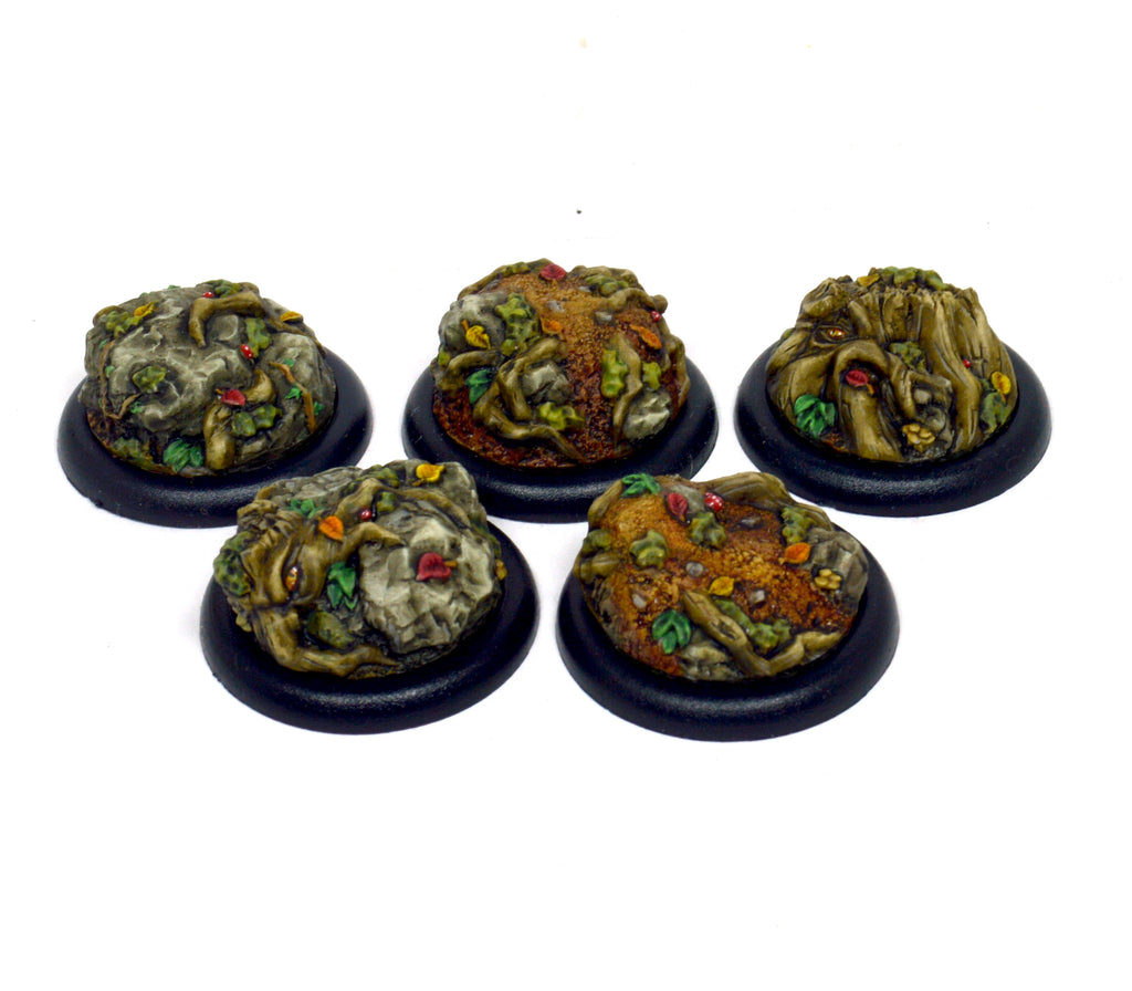 Small Haunted Forest Inserts x 5