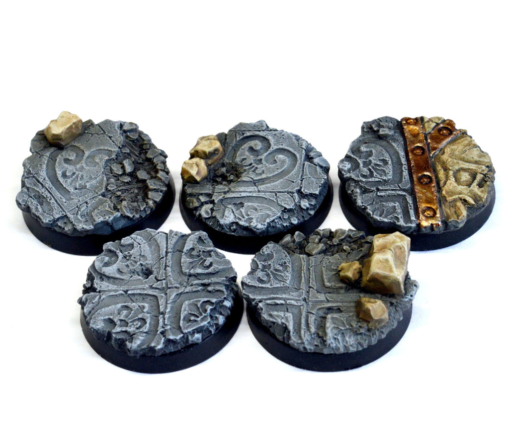 25mm Imperial Ruin Inserts x 5