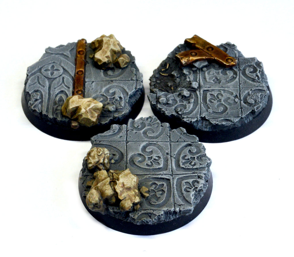 40mm Imperial Ruin I Inserts x 3
