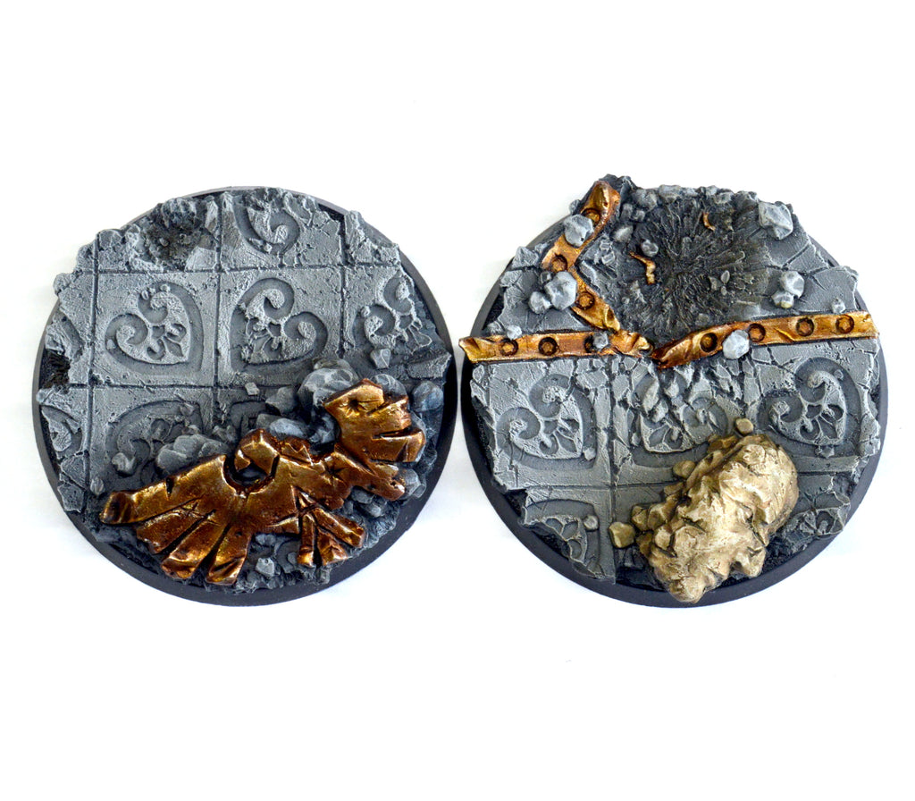 50mm Imperial Ruin I Inserts x 2