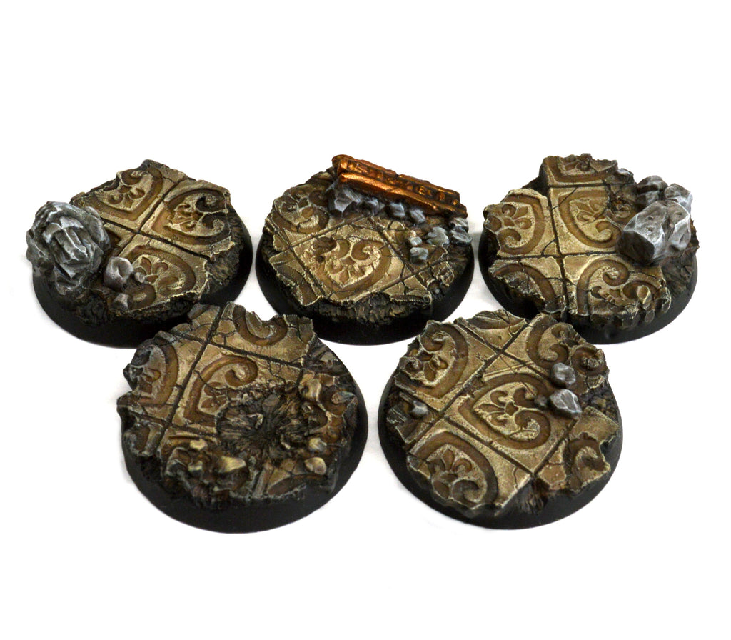 32mm Imperial Ruins Base x5