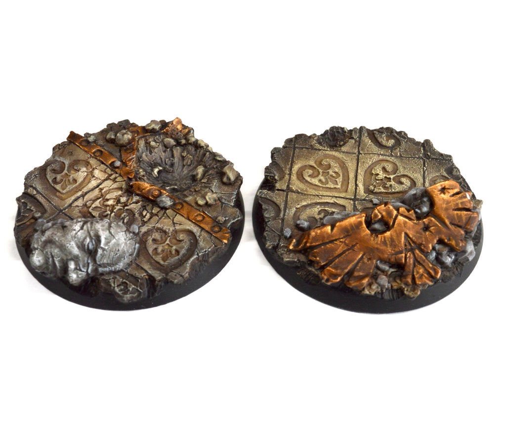 50mm Imperial Ruins Base x3