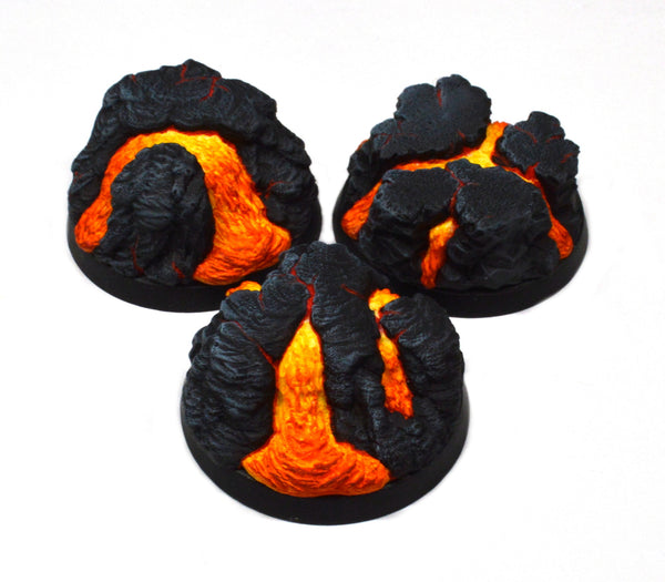 40mm Heroic Molten Lava Inserts x 3