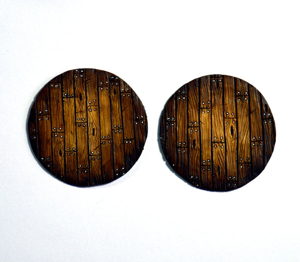 Large Wood Plank Inserts x 2