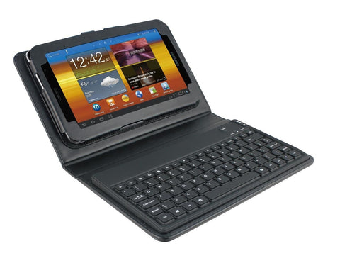 Mini iPad Aluminum Case with Bluetooth keyboard Aluminum