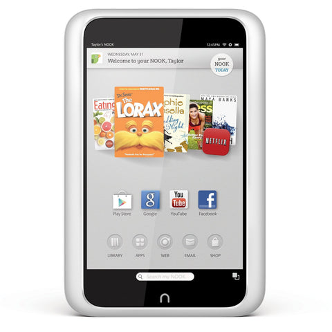 Nook BNTV400WRB 7-Inch 8 GB Tablet (White)