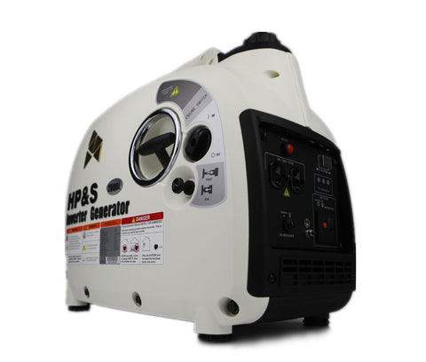 HPS 2000i Inverter Generator,rated Output Is 1600watt, Maximum Output Is 2000watt