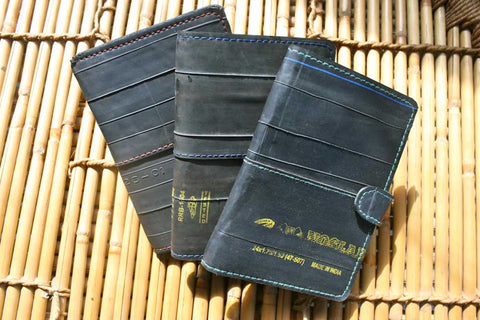 Freddy: Upcycled Passport/travel holder