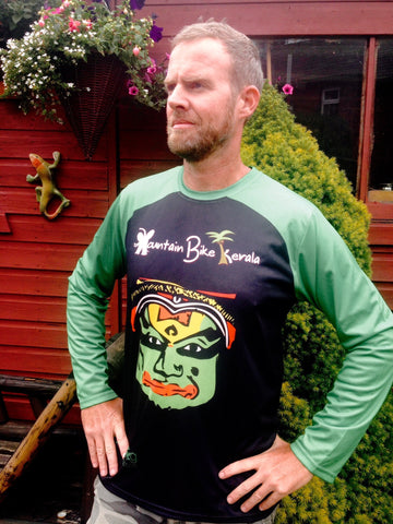 MTB Long Sleeve Ride Shirt: Kathakali