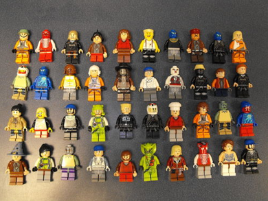 Star Wars Lego Lot Of 10 Minifigures Random Lot Star Wars, Ninjago & More L@@K