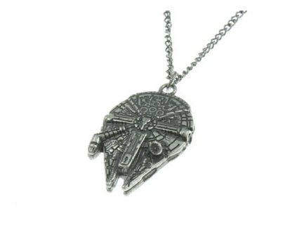 Star Wars Millenium Falcon 3D Mold Necklace