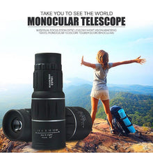 High Power Prism Monocular Telescope