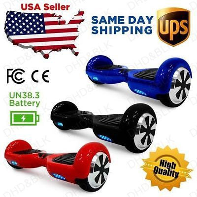 HoverBoard 2 Wheel Electric Self Balancing Scooter