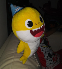 Plush Baby Shark Singing Toy