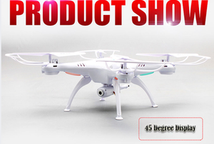 1 Drone WIFI FPV RC Quadcopter 2.4G 6-Axis Helicopter UFO HD 2MP Camera